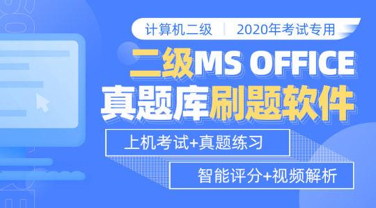 二级MS Office高级应用题库与视频